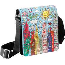 "Goebel Umhängetasche James Rizzi - ""My New York City Day"" 25,0 cm"