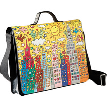 "Goebel Umhängetasche James Rizzi - ""My New York City Sunset"" 31,0 cm"