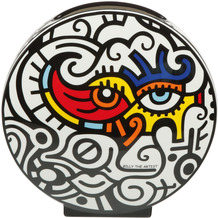 """Goebel Vase Billy The Artist - """"Bright Eyes"""" 20,0 cm"""