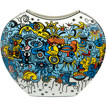 "Goebel Vase Billy The Artist - ""Celebration Deep Sea"" 21,0 cm"