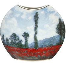 Goebel Vase Claude Monet - Mohnfeld / Tulpenfeld 20,0 cm