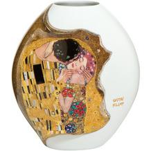 """Goebel Vase Gustav Klimt - """"Der Kuss"""" 14,0 cm"""