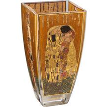 """Goebel Vase Gustav Klimt - """"Der Kuss"""" 16,0 cm"""