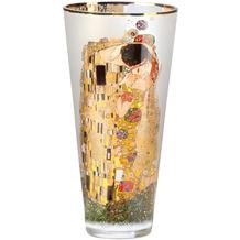 """Goebel Vase Gustav Klimt - """"Der Kuss"""" 30,0 cm"""