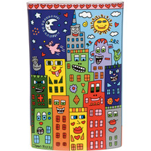 Goebel Vase James Rizzi - It`s Heart Not to Love My City 30,0 cm