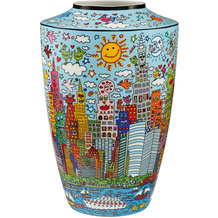 "Goebel Vase James Rizzi - ""My New York City Day"" 41,0 cm"