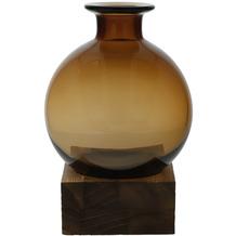 Goebel Vase Smoky Amber 19,5 cm