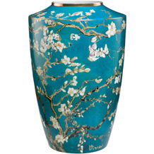 Goebel Vase Vincent van Gogh - Mandelbaum blau 24,0 cm