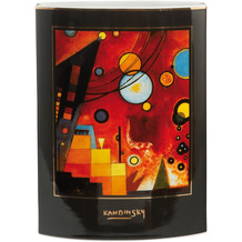 Goebel Vase Wassily Kandinsky - Schweres Rot 24,0 cm