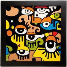 "Goebel Wandbild Billy The Artist - ""Looking into the future II"" 33,5 x 33,5 cm"