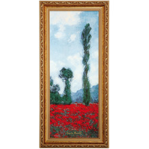 "Goebel Wandbild Claude Monet - ""Mohnfeld II"" 27,0 x 57,0 cm"