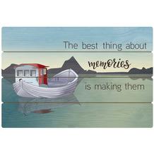 Goebel Wandbild Fishing Boat - Memories 60,0 x 40,0 cm