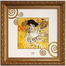 "Goebel Wandbild Gustav Klimt - ""Adele Bloch-Bauer"" 31,5 x 31,5 cm"