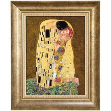 Goebel Wandbild Gustav Klimt - Der Kuss 34,0 cm