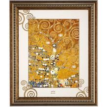 "Goebel Wandbild Gustav Klimt - ""Der Lebensbaum"" 48 x 58 cm"