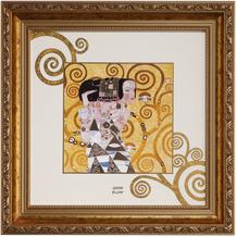 "Goebel Wandbild Gustav Klimt - ""Die Erwartung"" 31,5 x 31,5 cm"