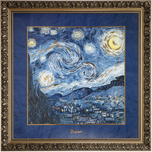 "Goebel Wandbild Vincent van Gogh - ""Sternennacht"" 68,0 cm"