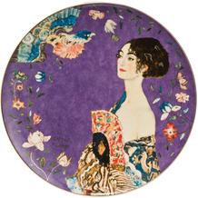 Goebel Wandteller Gustav Klimt - Dame mit Fächer 36,0 cm