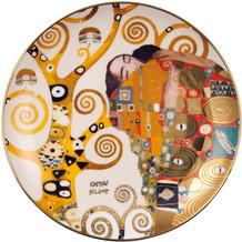 """Goebel Wandteller Gustav Klimt - """"Die Erfüllung"""" 2,0 cm"""