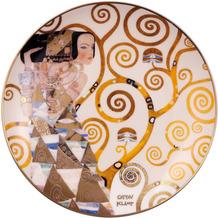 """Goebel Wandteller Gustav Klimt - """"Die Erwartung"""" 2,0 cm"""