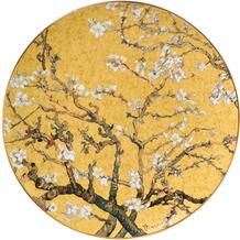 "Goebel Wandteller Vincent van Gogh - ""Mandelbaum Gold"" 36,0 cm"