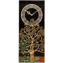 Goebel Wanduhr Gustav Klimt - Der Lebensbaum 20 x 48 cm