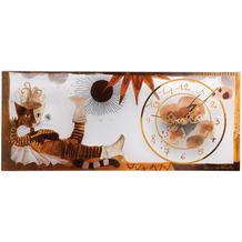 "Goebel Wanduhr Rosina Wachtmeister - ""Gatto con stivali"" 48,0 x 22,0 cm"