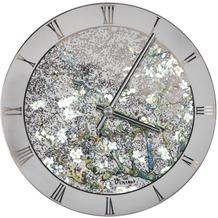 "Goebel Wanduhr Vincent van Gogh - ""Mandelbaum silber 5,0 cm"