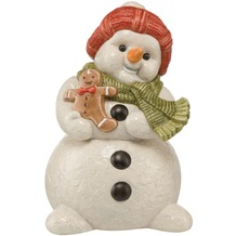 Goebel Weihnachten Schneemänner Cookie & Co. - Plätzchendose