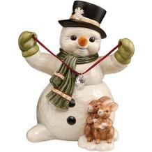 Goebel Weihnachten Schneemänner Herzliche Wintergrüße