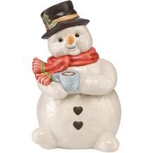 Goebel Weihnachten Schneemänner Zimt und Zucker - Schneemanndose