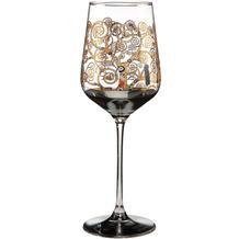 Goebel Weinglas Gustav Klimt - Der Lebensbaum 25,0 cm