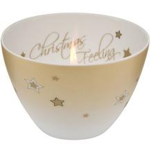 Goebel Windlicht Christmas Feeling - Sterne 7,5 cm