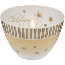 Goebel Windlicht Christmas Feeling - Streifen 7,5 cm