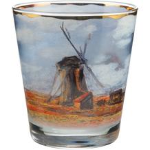 """Goebel Windlicht Claude Monet - """"Tulpenfeld"""" 10,0 cm"""