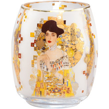 """Goebel Windlicht Gustav Klimt - """"Adele Bloch-Bauer"""" 13,5 cm"""