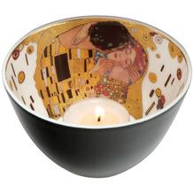 Goebel Windlicht Gustav Klimt - Der Kuss 7,5 cm