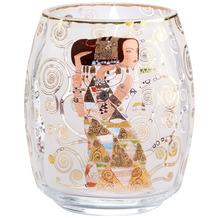 """Goebel Windlicht Gustav Klimt - """"Die Erwartung"""" 13,5 cm"""