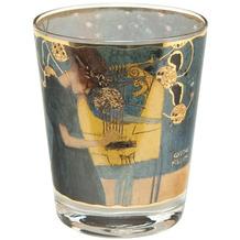 Goebel Windlicht Gustav Klimt - Die Musik 10,0 cm