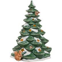 Goebel Windlicht Verschneiter Lichterbaum 23,5 cm