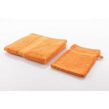 Gözze Frottierserie New York orange Badetuch 100 cm x 150 cm