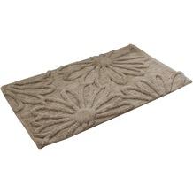 Gözze Badteppich Blume sand 50 cm x 70 cm