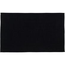 Gözze Badteppich Chenille schwarz 70 x 120 cm