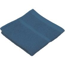 Gözze Frottierserie Sylt kobaltblau Duschtuch 70 cm x 140 cm