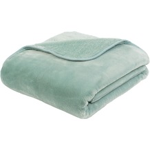 Gözze Premium Cashmere-Feeling Decke aqua 180x220 cm