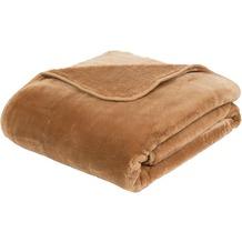 Gözze Premium Cashmere-Feeling Decke sand 180x220 cm