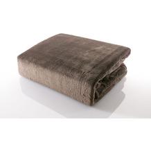 Gözze Premium Memphis Decke braun 150 x 200 cm