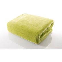 Gözze Premium Memphis Decke grün 150 x 200 cm