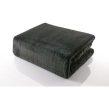 Gözze Premium Memphis Decke schwarz 150 x 200 cm