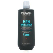 Goldwell Dual Senses Men Hair&Body Shampoo For All Hair Types 1000 ml